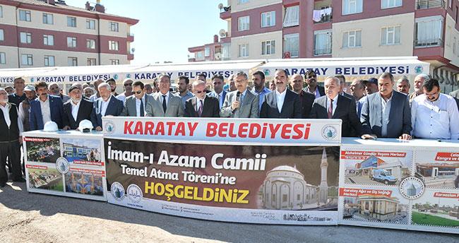 İmam-ı Azam Caminin temel atma töreni gerçekleştirildi