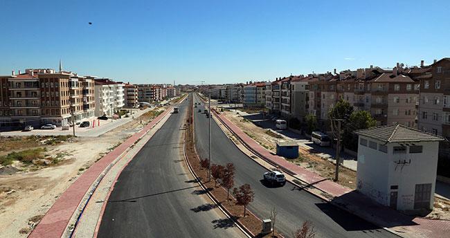 Ahmet Yesevi Caddesi'nde sona gelindi