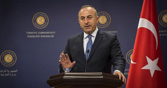 Çavuşoğlu'ndan YPG açıklaması: Artık zamanı gelmiştir!