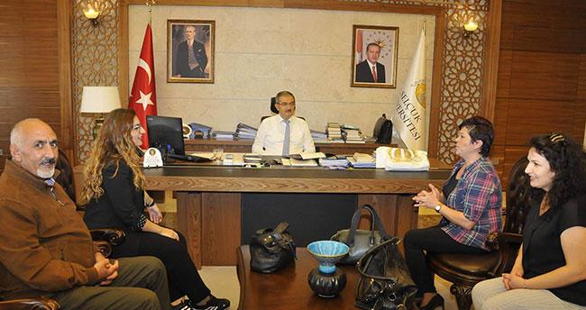 Rektör Şahin, ikinci üniversite kaydını yaptı