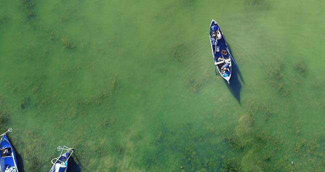 Yeşil ve mavinin buluştuğu saklı cennet: Suğla Gölü