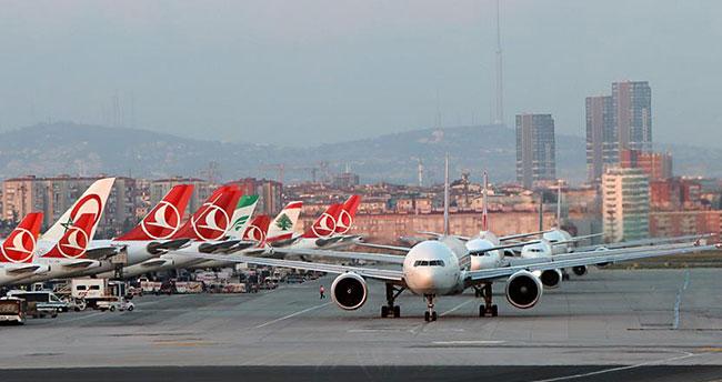 Havayolunda yolcu sayısı 164 milyona yaklaştı