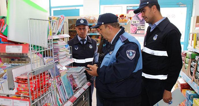Akşehir'de zabıta fiyat ve etiket denetimi başlattı