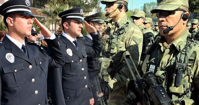 Polise, korucuya, askere müjde paketi!