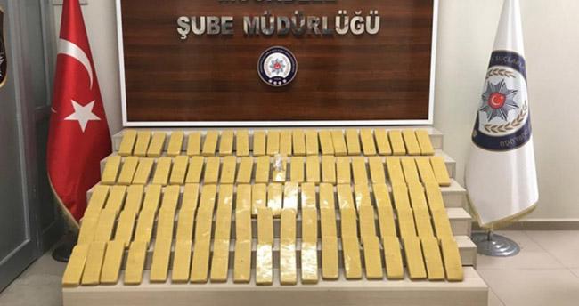Van'da 51 kilo uyuşturucu ele geçirildi