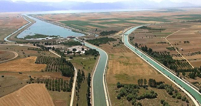 DSİ, Konya Ovası'nda 863 bin dekar alan suladı