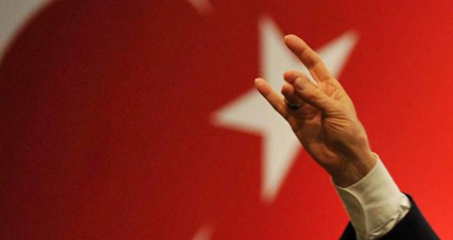 MHP'den 'bozkurt işareti' açıklaması