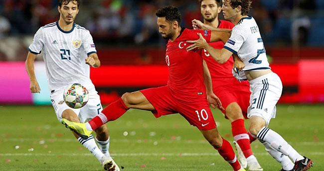Türkiye Rusya maçının hakemi belli oldu