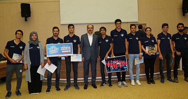 TEKNOFEST'te Derece Alan Konya Teknik Üniversitesi Öğrencilerine Ödül