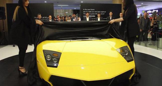 İran yerli Lamborghini Murcielago üretti