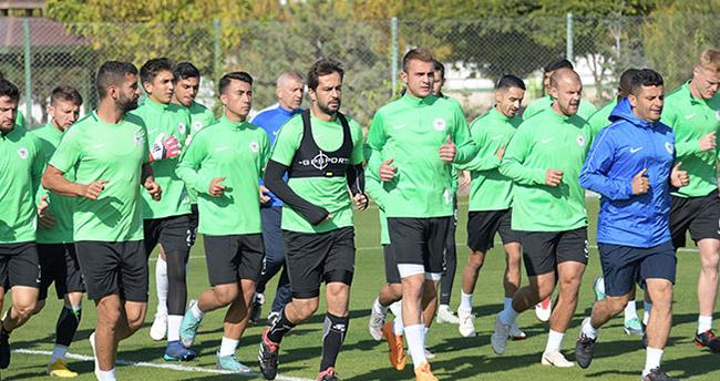 Konyaspor Çaykur Rizespor hazırlıklarını sürdürüyor
