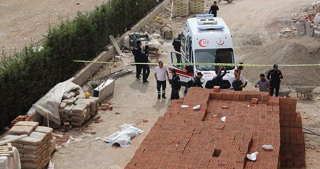 Karaman'da 13. kattan düşen inşaat işçisi hayatını kaybetti