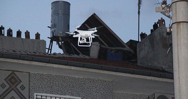 Konya'da Drone destekli uyuşturucu operasyonu