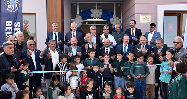 Sarayköy İlkokulu açıldı