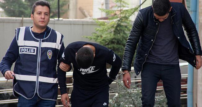 Konya'da çaldıkları çekler ile tatile giden hırsızlar tutuklandı