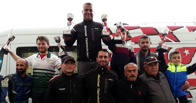 Türkiye Motodrag Şampiyonası Konya'da tamamlandı