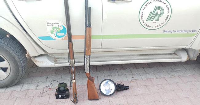 Farla avlanan 4 kişiye ceza uygulandı