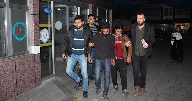 Konya'da Afganlıyı gasp eden Suriyeliler yakalandı