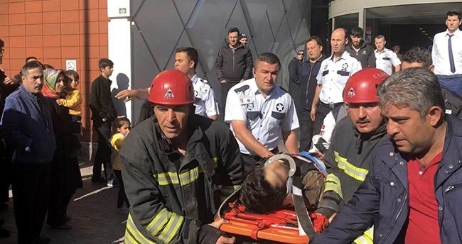 Konya'da bir kişi iş merkezinin 42. katından atladı