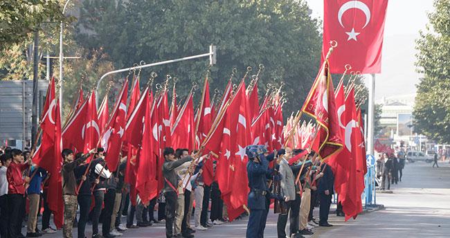 Konya'da Cumhuriyet coşkusu!