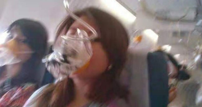 Endonezya'daki uçak kazasının görüntüleri çıktı