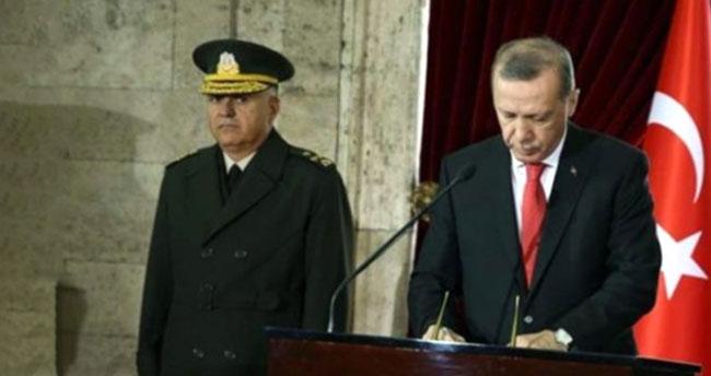 Erdoğan'dan Anıtkabir'de dikkat çeken mesaj