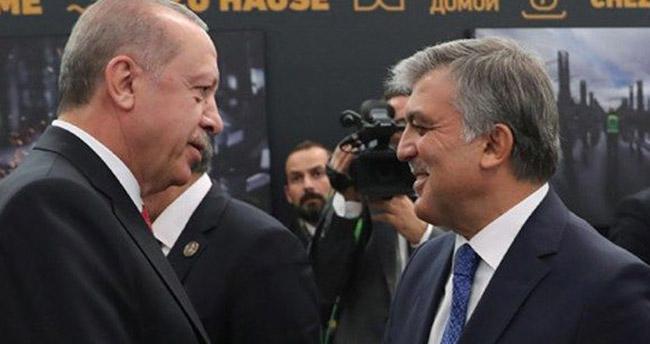 Erdoğan ve Gül Havalimanı açılış töreninde bir araya geldi