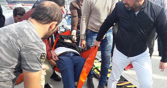 Fatih Sultan Mehmet Köprüsü'nden atlayan taksici, hayatını kaybetti
