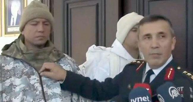 İşte Türk askerinin kış kıyafetleri… Komutan tek tek anlattı!