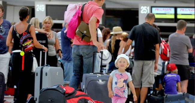 Turist sayısı 40 milyona yaklaşıyor