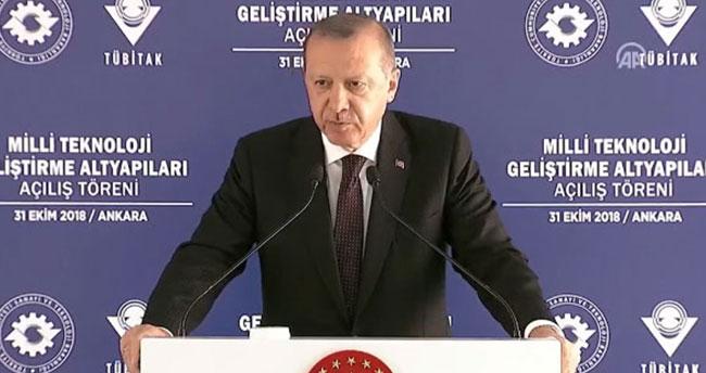 Cumhurbaşkanı Erdoğan, 'Müjde' diyerek duyurdu
