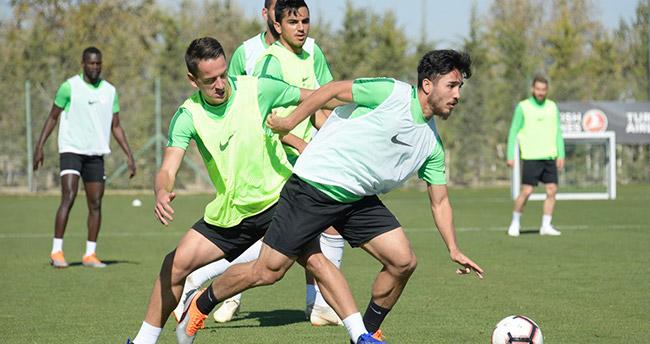 Atiker Konyaspor'da Demir Grup Sivasspor maçı hazırlıkları