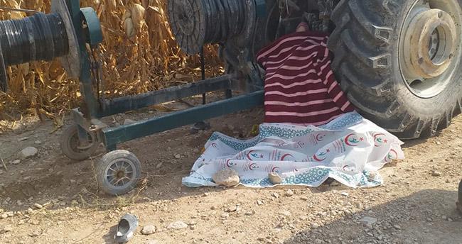 Konya'da feci ölüm! Sulama borusu toplayan kadın, makaraya sıkışıp can verdi