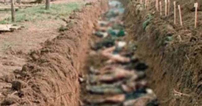 200'den fazla toplu mezar bulundu