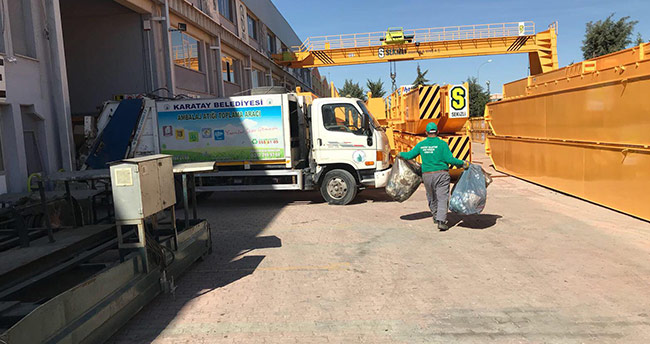 Karatay Belediyesi'nedn 'Sıfır Atık Projesi'ne destek