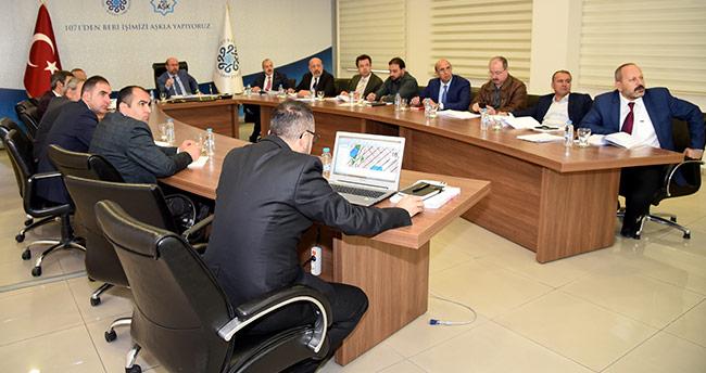 Selçuklu'da 2019 hizmet planlaması yapılıyor