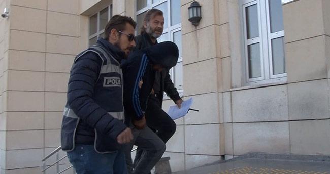 Konya'da hırsız çaldığı otomobile yakıt alınca yakalandı