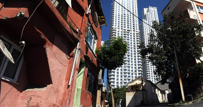 Gecekonduların yerine yüksek katlı bina yapılmasına izin verilmeyecek