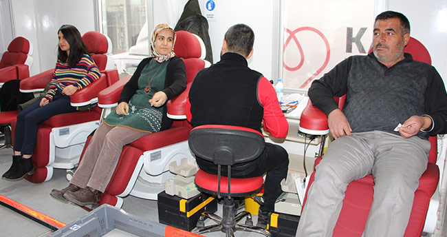 Karatay Belediyesi'nden kan bağışına destek