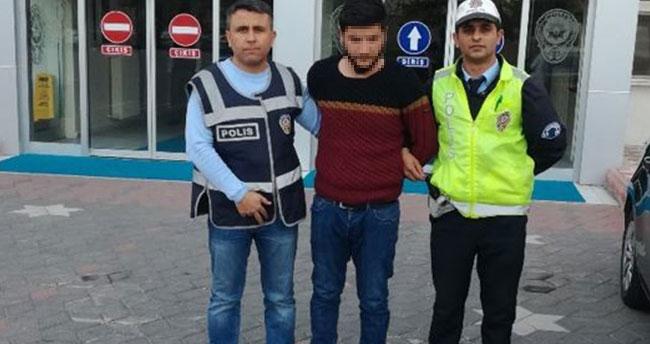 Drift yapan sürücü sanal polise yakalandı
