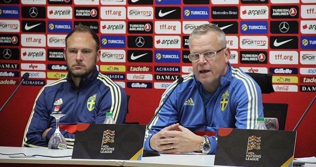 """Janne Andersson: """"Bu maça final maçı gibi bakıyoruz"""""""