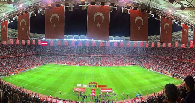 Konya'da milli heyecan