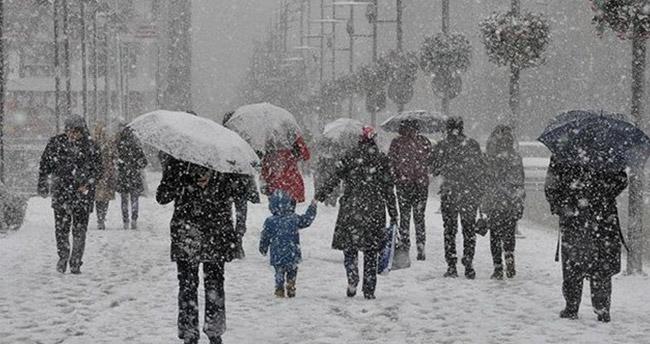 Meteorolojiden uyarı! Sağanak ve kar yağışına dikkat