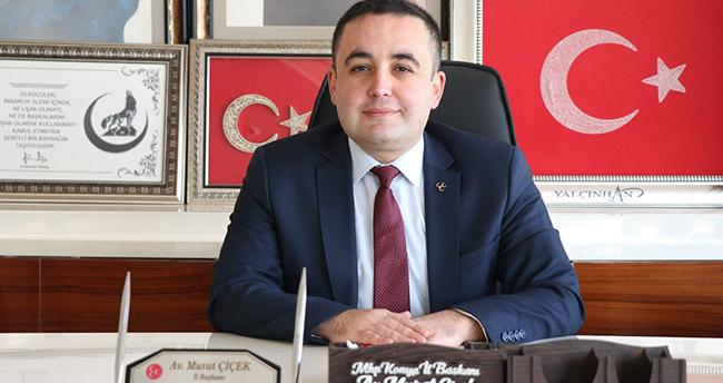 MHP İl Başkanı Çiçek'ten Mevlid Kandili mesajı