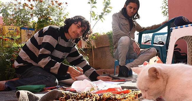 Suriyeli ressam engelsiz hayat için yardım bekliyor