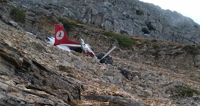 Denizli'den acı haber! Düşen uçak bulundu