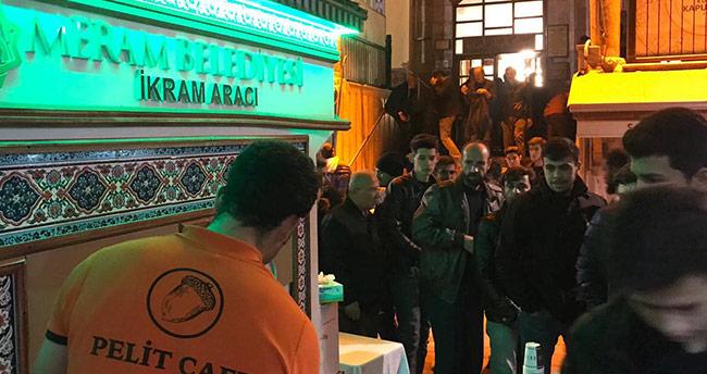 Konya'da Mevlid Kandili coşkusu Kapu Camii'nde yaşandı