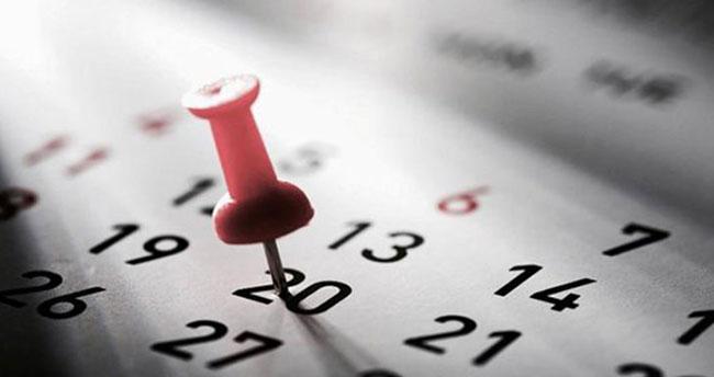 Çalışanlar dikkat! 2019 yılında kaç gün tatil yapacağız?