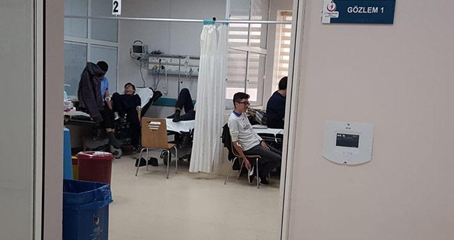 Konya'da 68 öğrenci zehirlendi
