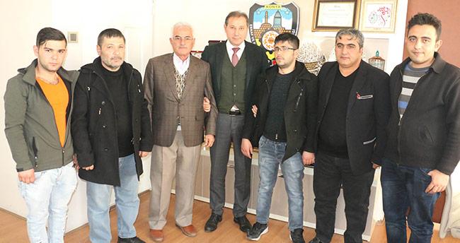 Konya'da örnek dolmuş şoförü ödüllendirildi